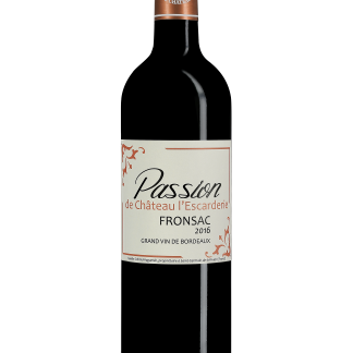 Passion Vin rouge Château l'Escarderie